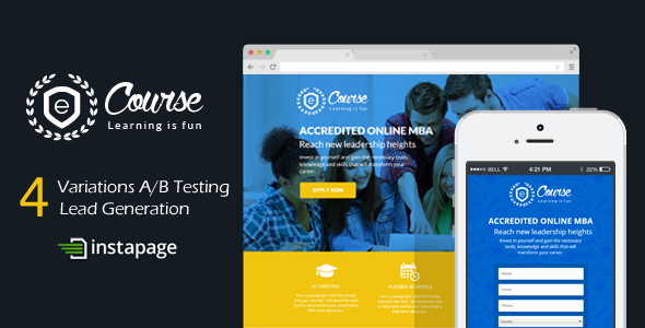 Sign Up Templates from ThemeForest