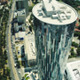 Flying Over Skyscraper - VideoHive Item for Sale