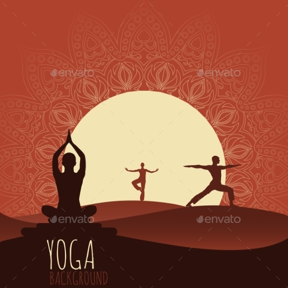 GraphicRiver Yoga Background 9491437