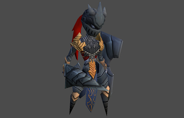 Phantom Knight - 3DOcean Item for Sale