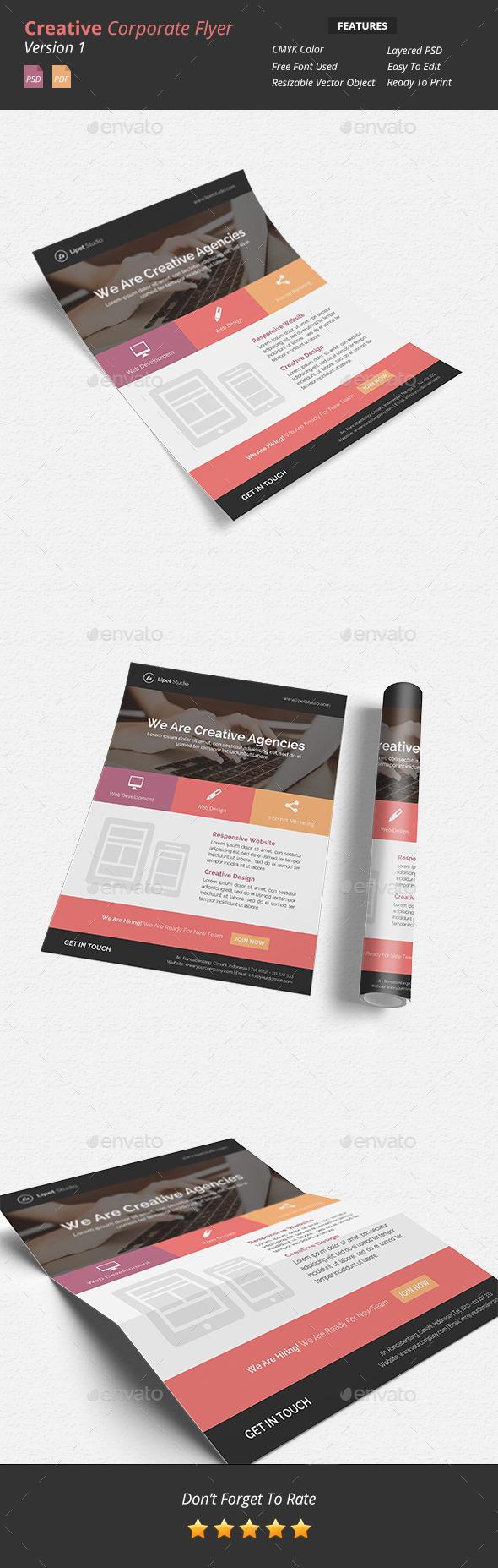 GraphicRiver Creative Corporate Flyer v1 9491675
