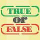 True Or False Quiz made with Corona SDK