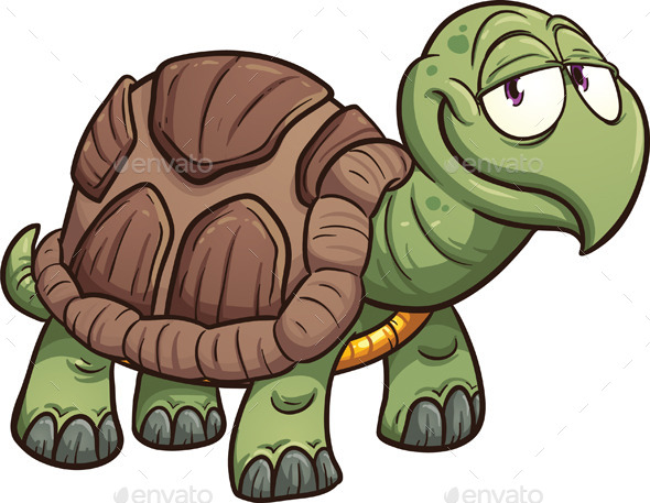 GraphicRiver Cartoon Turtle 9492208