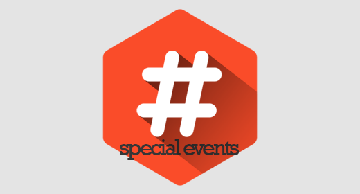 #specialevents
