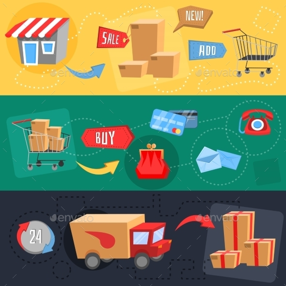 GraphicRiver Design Concept of E-Commerce 9492682