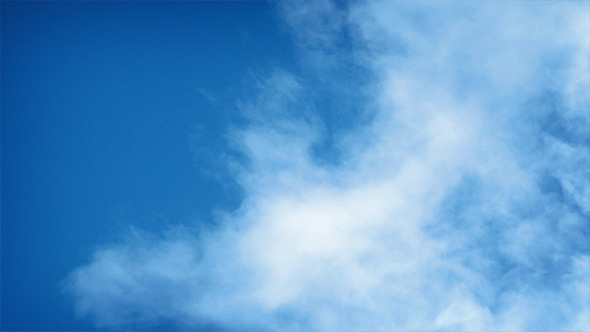 VideoHive Clouds Moving Across Blue Sky 9492818
