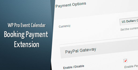 CodeCanyon Wordpress Pro Event Calendar Payment Extension 9492899