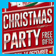 Christmas Parade Party Flyer - GraphicRiver Item for Sale