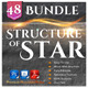 48 Structure of Stars Bundle - GraphicRiver Item for Sale