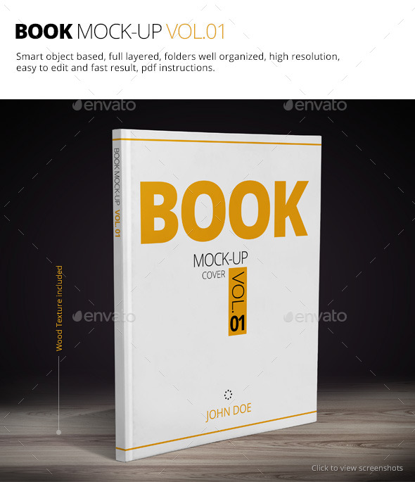 GraphicRiver Book Mock-up Vol.01 9493406