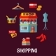 Flat Shopping Icons for Household Appliances - GraphicRiver Item for Sale