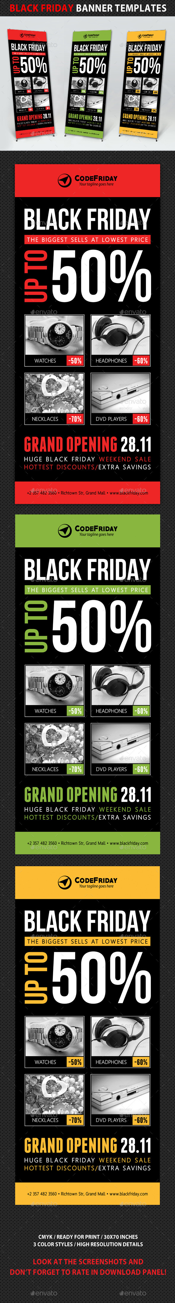 GraphicRiver Black Friday Sale Banner Template V02 9493530