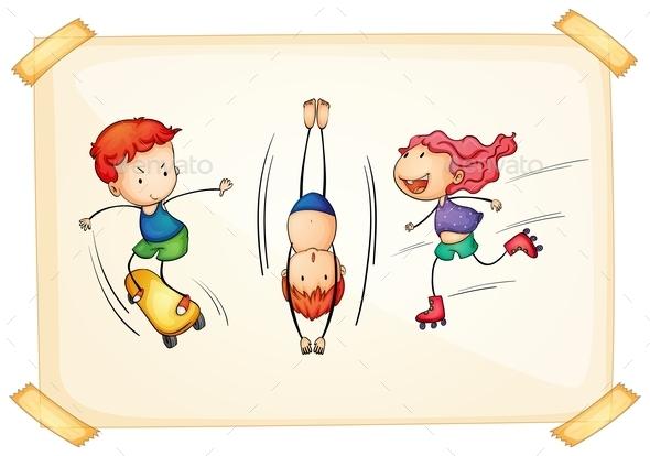 GraphicRiver Children and Sports 9493672