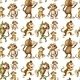 Seamless Monkey - GraphicRiver Item for Sale