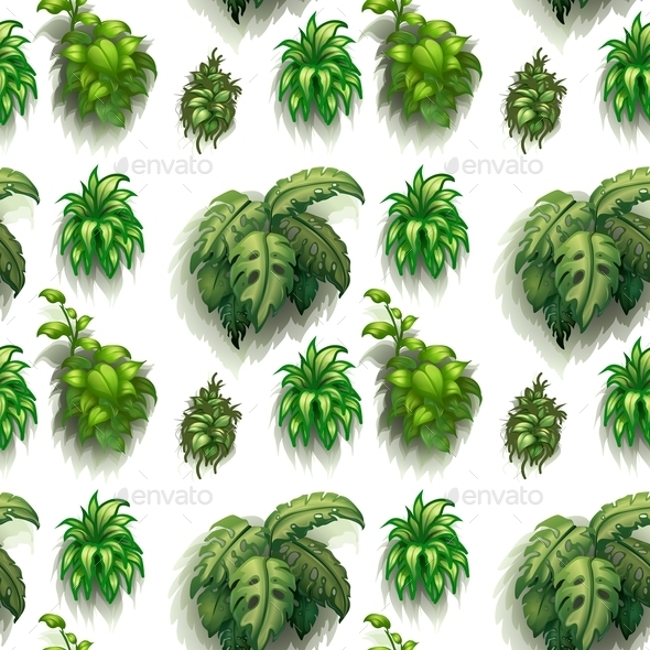 GraphicRiver Seamless Plants 9493833