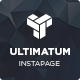 Ultimatum Instapage Template