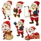 Santa Set - GraphicRiver Item for Sale
