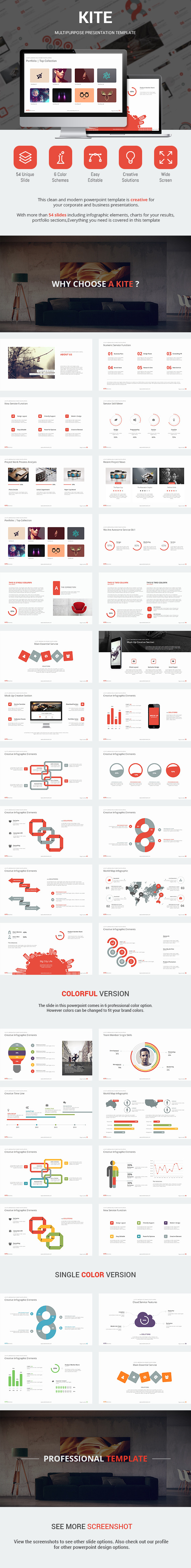 GraphicRiver Kite Presentation Template 9493897