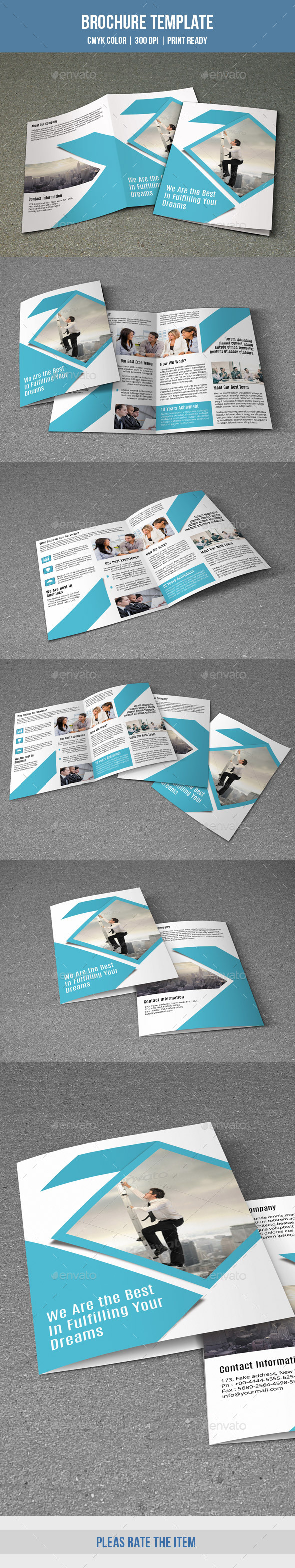 GraphicRiver Corporate Bifold Brochure-V159 9493950