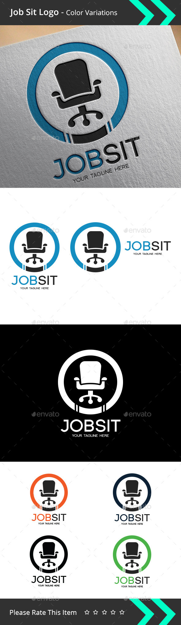 GraphicRiver Job Sit Logo 9493968