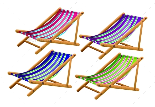 GraphicRiver Beach Chairs 9493996