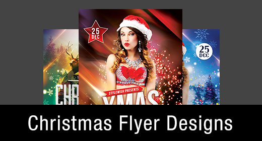 *Christmas Flyer Templates