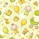 Seamless Pattern with Babies - GraphicRiver Item for Sale