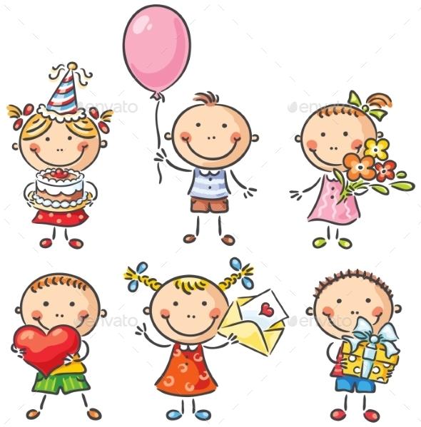 GraphicRiver Birthday Kids 9494396