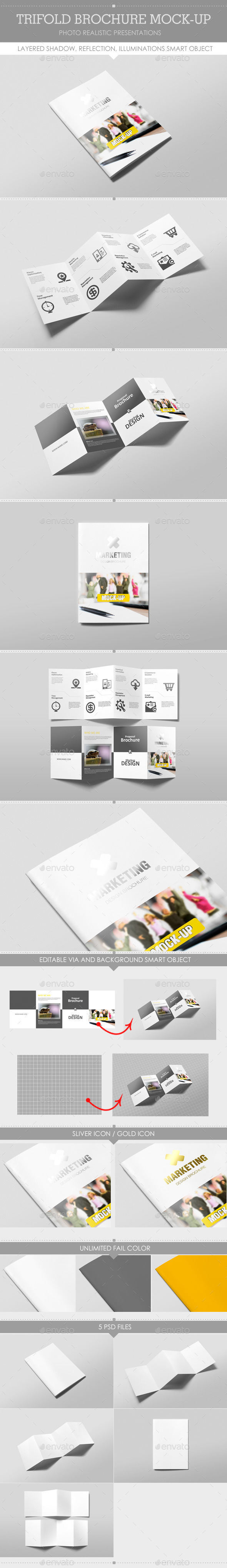 GraphicRiver Brochure Mock-Up 9494425