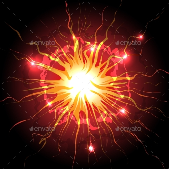 GraphicRiver Explosion in the Sky 9494437