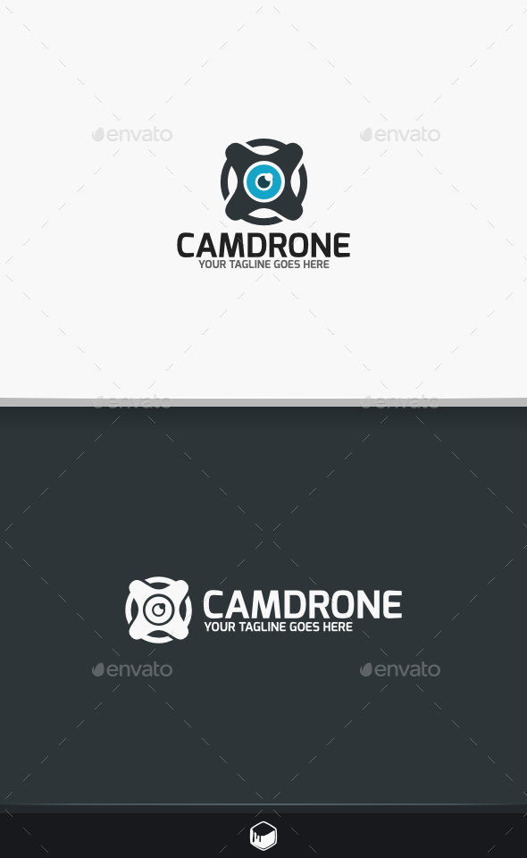 GraphicRiver Camera Drone Logo 9494499