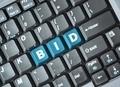 Bid key on keyboard - PhotoDune Item for Sale