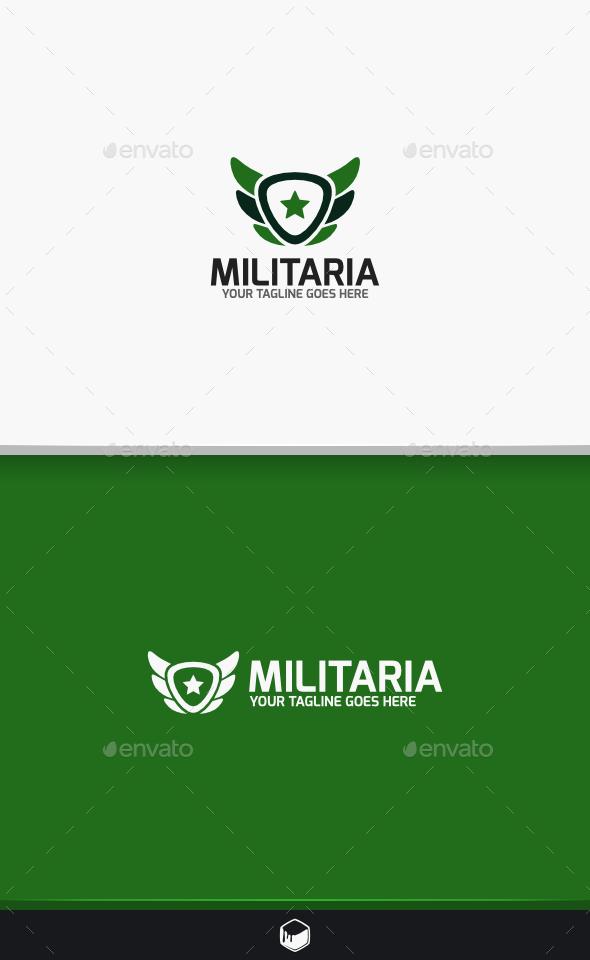 GraphicRiver Militaria Logo 9494569