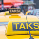 Taksi sign on a yellow cab in Istanbul - PhotoDune Item for Sale