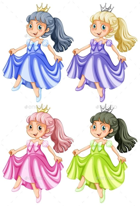 GraphicRiver Princess 9495277
