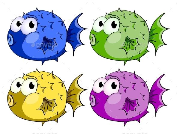 GraphicRiver Bubble Fish 9495358