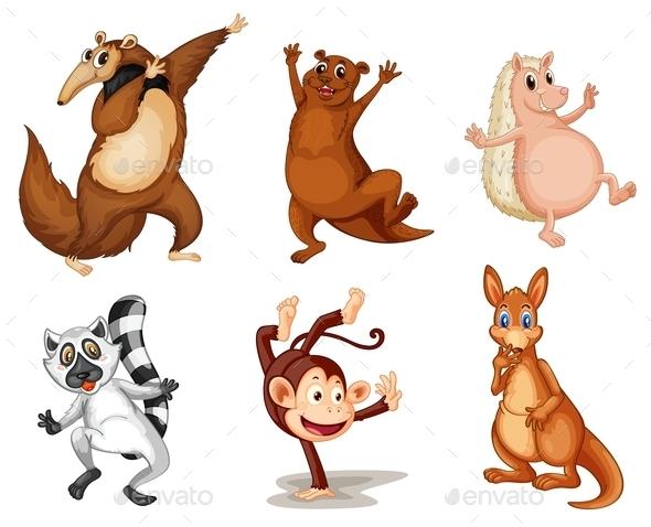 GraphicRiver Mixed Animals 9495410