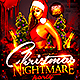 Christmas Nightmare Party Flyer - GraphicRiver Item for Sale