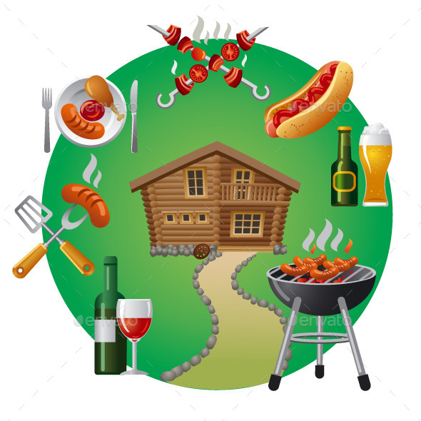 GraphicRiver Country Barbecue 9495568