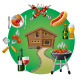 Country Barbecue - GraphicRiver Item for Sale