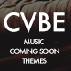 CVBE - Coming Soon Music Landing Page
