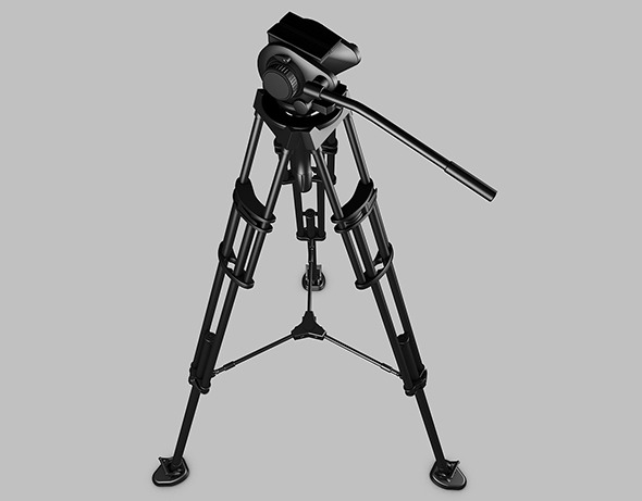 Camera tripod - 3DOcean Item for Sale