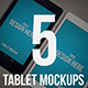 High Quality Tablet Mockups Vol.2 - GraphicRiver Item for Sale