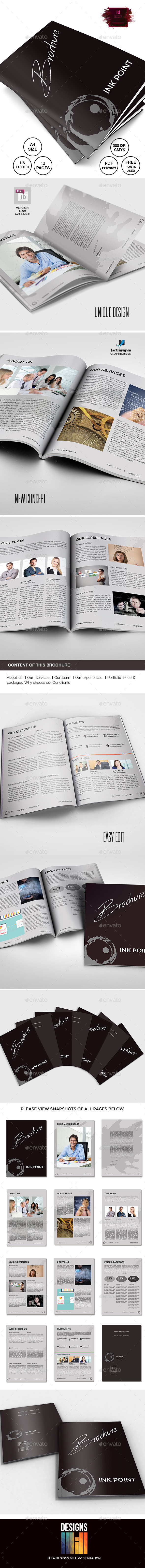 GraphicRiver InkPoint Brochure 9495998