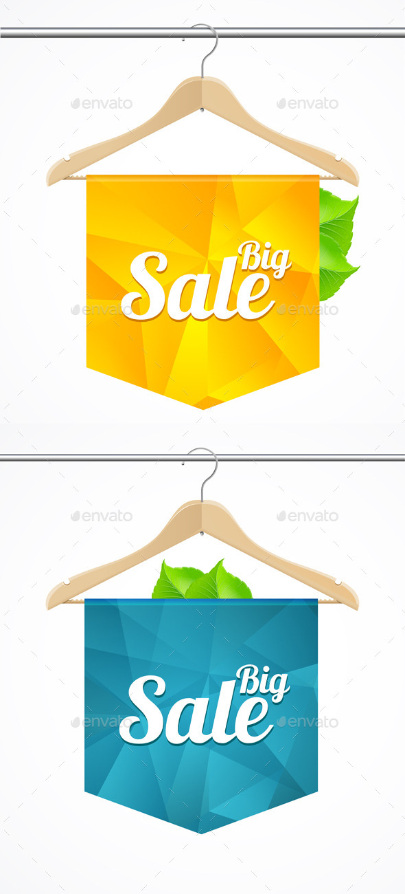 GraphicRiver Sale Collections Template Clothes Hanger 9496325