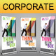 Corporate Business Rollup Banner V6 - GraphicRiver Item for Sale