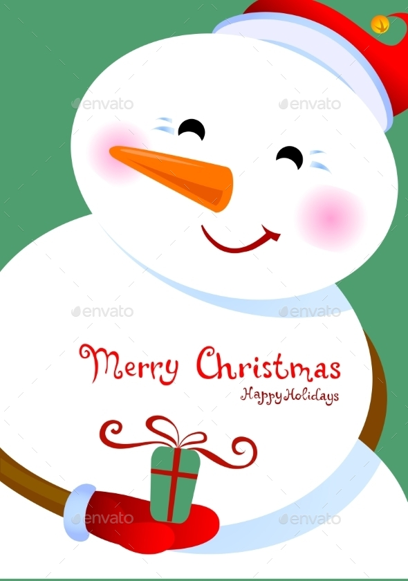 GraphicRiver Merry Christmas Greetings 9496671