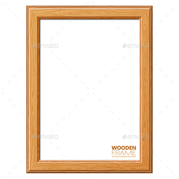 GraphicRiver Wooden Frame 9496872