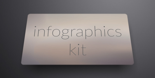 Clean Minimal Infographics Kit (Infographics)