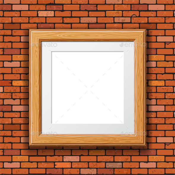GraphicRiver Wooden Frame 9497056